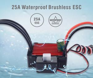 ZD Racing 25A ESC Brushless Elektro Drehzahlregler für RC 01.16 01.18 Auto-LKW-wasserdicht