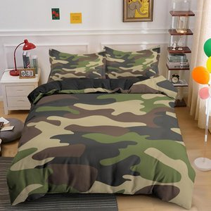 Home Textile Cool Boy Girl Girl Kid Adulto Duver Cover Set Camouflage Biancheria da letto Set King Queen Twin Comforter Covers con federa1