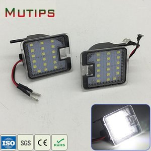 Mutips 1Set Car LED Side Mirror Lights 12V For Focus C-Max Kuga Escape Mondeo Rear Under Mirror Lamp Bulb Kit accessories1