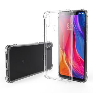 1.5MM Coussin Air Soft TPU Transparent Case Pour Xiaomi 10 Lite 10T 10X POCO C3 NFC redmi 9 9A 9C 8 8A 7 Note 9S K30