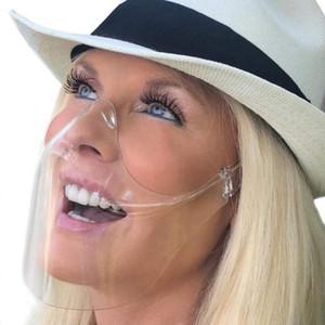 Protectora Blocc careta con los vidrios Clear Máscara de aislamiento anti-niebla para toda la cara transparente de la protección impedir el arrastre de las gotitas de Seguridad