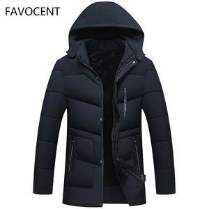 FAVOCENT Good Quality Men Jacket Super Warm Thick Mens Winter Parkas Long Coats with Hood for Leisure Men Parka Plus Size 5XL 201014