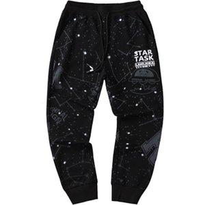 Hommes Casual Starry Sky State Share Sport Long Saisons Mode Pantalon Pantalon Homme Imprimer Vêtements