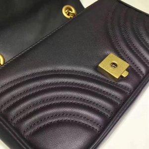2020 nueva más alta de lujo bolsos de la marca Italia geniune damas de cuero de alta calidad bolso de calidad superior el envío libre