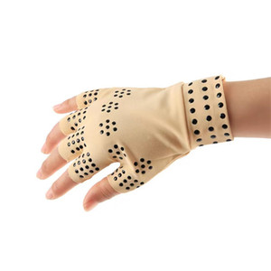 2021 Magnetic Therapy Fingerless Gloves Arthritis Pain Relief Heal Joints Braces Supports Health Care Tool Foot Care Tool