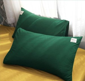 Green And Yellow Bed Set Single Bed Sheet Sets Solid Color Cotton Duvet Cover Pillowcase Queen Size Bedding Se jllxPb yeah2010