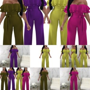 3E7NSummer Nova Tie Pie Onemask Set P Slim Collar High Collar Fashion's Colling Women's Moda Feminina Jumpsuit Black Two Dye