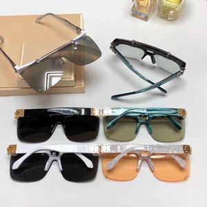 Lüks Tasarımcı Güneş gözlüğü İçin Erkekler Kadınlar Moda Full Frame UV400 UV koruması Objektif Steampunk Yaz Kare Stil Comw ile Paketi Z1194E
