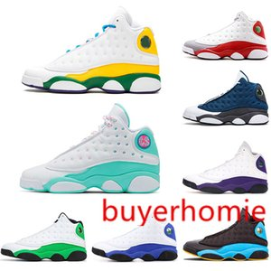 Jumpman 13 13s Men Basketball Shoes Reverse He Got Game Cap and Gown Black Island Green Bred court purple Carmelo Anthony Retro Sneakers