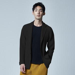 IEFB / Plissee beiläufige Klage für Männer Herbst lost und gut aussehenden Blazer Trend All-Match Jacke Qualitäts-9Y465 201104