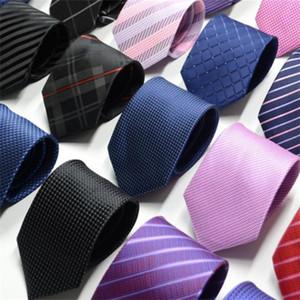 High-end Silk Necktie Fashion Design Mens Business Silk Ties Neckwear Jacquard Business Tie Wedding Neckwear 80 Colors . u6562