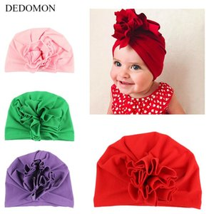 2020 Boys Girls Baby Hats And Caps Newborn Infant Hat Photography Elastic Baby Toddler Lovely India Flower Turban Hats for Girls