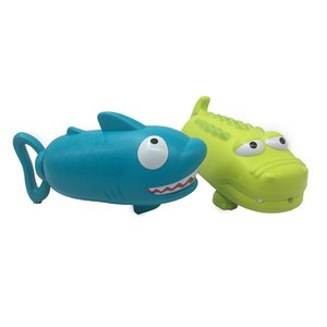 Summer Water Gun Toy Pistol Shooter Outdoor Swimming Pools Cartoon Shark Crocodile Squirter Toys For Children
