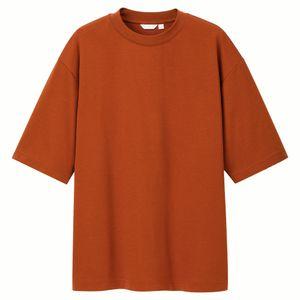 wholesale cheap design bulk t shirt Heavyweight hip hop t-shirt men 100% Cotton Crew Neck black white Tshirts Men