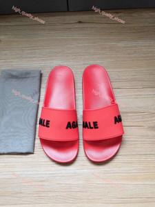 Balenciaga slipper 2021 Lusso تصميم رجل إمرأة الصيف بركة صندل الشريحة في الصنادل المطاطية شاطئ النعال شاطئ أحذية الراحة السيدات
