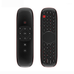 W2 Flying Air Souris Souris pour la souris sans fil Mouse 2.4g Voice TV Boîte, Support PC / VS / W1 I8 et ROID TV Box Smart1