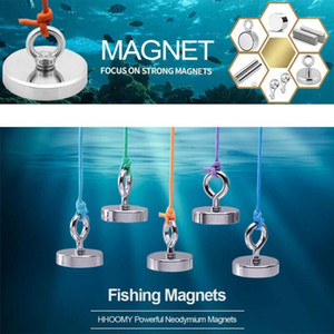 Neodymium Magnete Recovery Forte Potenza Imanale Metal Detector Salvage Magnete Pot Treasure Caccia Sott'acqua Pesca1