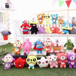 15-20cm Cartoon Malyshariki Smeshariki stuffed animals toy Hedgehog Kikoriki Nyushenka pandochka Plush toys children Kids Gifts