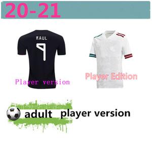 Player Version 2020 Mexico Soccer Jersey National New Away White 19 20 Black CHICHARITO LOZANO GUARDADO CARLOS VELA RAUL Football Shirts