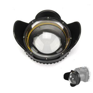 ميكون كاميرا تحت الماء 200mm فيش عريضة زاوية عدسة قبة ميناء (محول جولة 67 ملم) 1