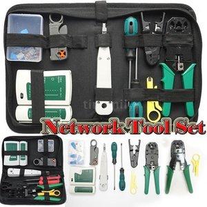 Ethernet Network Hardware Sac Tool Network Network LAN Câble Pince à sertir Tools Kit Réparation Outil Set Câbles Tester1