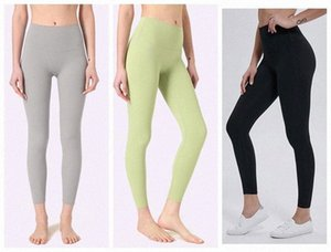 women leggings yoga pants designers womens gym wear lu icon 32 68 solid color sports elastic fitness lady overall align tights short 2 S0ey#