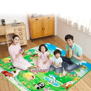 0.5cm Thick Baby Crawling Play Mat Educational Alphabet Game Rug For Children Puzzle Activity Gym Carpet Eva Foam Kids Game Toys LJ201114