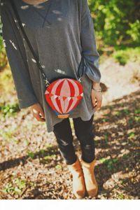 2017 New Designer Hot Air balloon Shaped Messenger Bag Women Fashion Colorful Flaps Casual Mini Cross Body Shoulder Bag Wallet