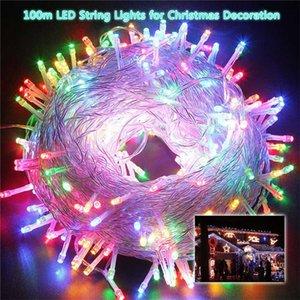 Plug-In-Fairy-String-Leuchten LED-Zeichenfolge-Lampenketten 10m / 100-Licht-20m / 200-Licht-30m / 300-Licht-Party-Hochzeits-Decor LED Rave Toys E121607