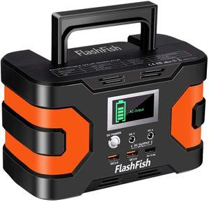 Station Power Power 200W, FlashFish CPAP batería 166Wh 45000mAh Paquete de energía de respaldo 110V 150W Paquete de batería de litio de litio Camping Generador solar