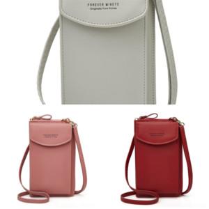 Nus fashion pocke zipper wallet laser wallet men women leather long single lady ladies long purse with
