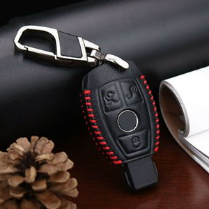 For Mercedes Benz Car Key Cover Car Key Case Leather Accessories High-Quality
