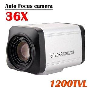 HD 36X Box Оптический зум камеры 1200TVL Аналоговое автофокусировка камеры Видео цвета CCTV Box Security