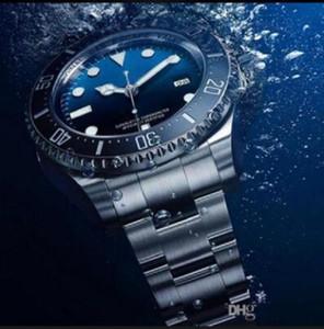 En İyi Kalite Erkekler İzle Sea-Dweller Seramik Çerçeve 44mm Stanless Çelik Otomatik Yüksek Kaliteli Iş Rahat Erkek İzle Saatı