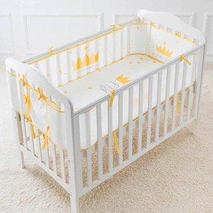 Crib Bumper Baby Bed Summer Breathable Universal 3D Sandwich Mesh Protector Baby Bed Infant Safe Crib Guardrail Enclosure azDk#