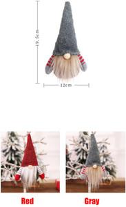 Christmas Handmade Swedish Gnome Scandinavian Tomte Santa Nisse Nordic Plush Toy Table Ornament Xmas Tree Decoration PPC3276