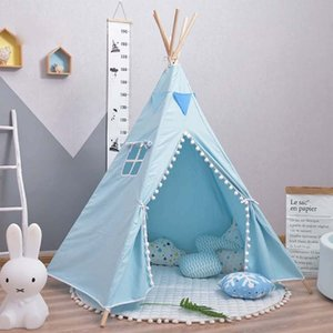 Children's Tent Teepee Tent For Kids Portable Tipi Infantil House For Children Cabana Kids Tents Decoration 1020