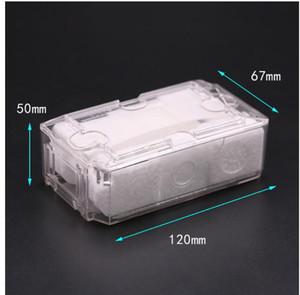 2020 حار رجل إمرأة ساعة اقية من البلاستيك صندوق الرجال النساء ووتش Boexes Gfits Stroage حقيبة صناديق الفنية ووتش QE312
