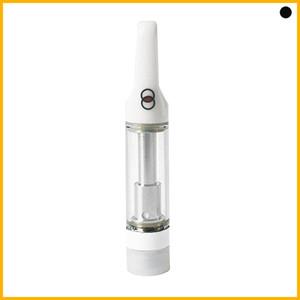 Recién floración carros vacíos Vape Cartucho 0.8 1.0 ml Atomizador de bobina de cerámica Atomizador Smart Buds Packaging Pyrex Glass Tank