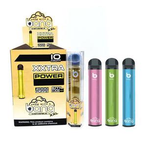 Взрыв XXL одноразовое устройство Vape Pod 6ml Емкость 800mAh батареи питания Vape Starter Kits Ecig Испаритель ручки E сигареты 12 цветов DHL бесплатно