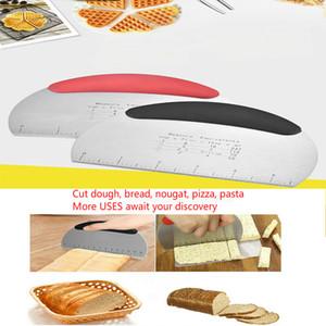 couteau à pizza de coupe gâteau en acier inoxydable pâte spatule beurre de coupe, la cuisson de pâtisserie grattoir outil, couteau à beurre cuisine viande repas