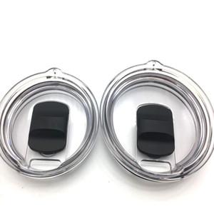 30 oz 20oz Copa de vaso de repuesto Lids magnéticos Crystal Clear Tapa Tumbler Mag Slider Lid Tapa a prueba de derrames para la taza