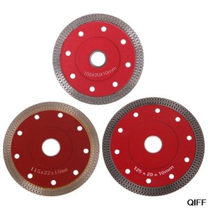 Red Hot Pressed Sintered Mesh Turbo Ceramic Tile Granite Marble Diamond Saw Blade Cutting Disc Wheel Bore Tools June 25