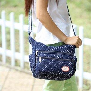 Women Fashion Canvas Shoulder Messenger Bag Female Crossbody Bag Ladies Bolsa Feminina Dot Printing Travel Bolsa sac a Main