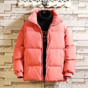 Men's Down & Parkas 2021 Winter Mens Jacket Casual Man Cotton Warm Coat Outwear Jackets Clothing