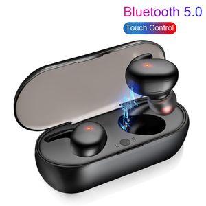 Oríficos originales Auriculares inalámbricos Bluetooth V5.0 Y30 TWS Wireless Bluetooth Auriculares Auriculares Auriculares Earbuts Venta caliente Envío gratis