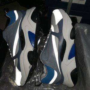 B22 Sneaker Herren Laufschuhe Vintage-Herren-Basketball-Schuhe Canvas und Kalbsleder Turnschuhe Unisex-beiläufige Schuh-20color Big Size 3