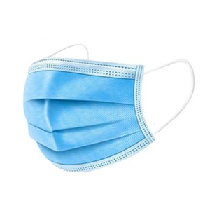 Proveedores desechables No tejido 3ply Fa Mask