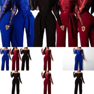 t0x primavera moda duas cores costurando preto dois pie p outono mulheres jumpswomen's jumpsuit
