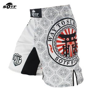 SOTF Boxing Training Fitness Muay Thai Board Boxing Shorts Muay Thai Boxing Shorts Muay Thai Roll Kickboxing MMA ROOL MMA Q1231